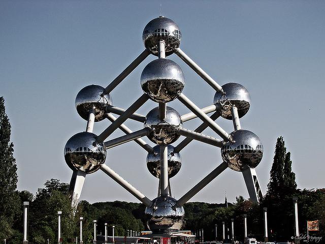 Atomium, Bruselas. Foto por Claudio