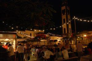 Noche de verano en Santa Cruz de Tenerife