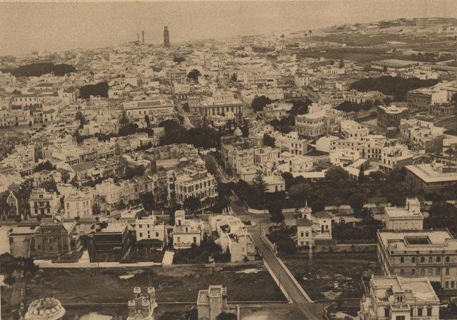 Santa Cruz de Tenerife, años veinte. Foto por Adalberto Benítez, FEDAC.